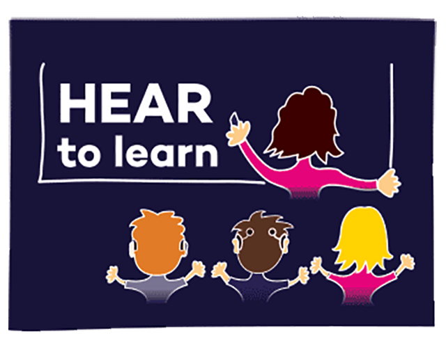 HEAR to Learn Logo